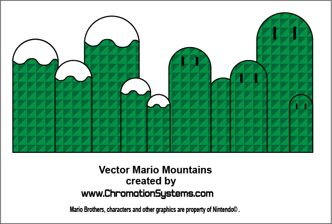 vector mario mountains pdf